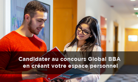 Candidater au concours Global BBA